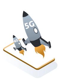 Conectividad 5g para webs